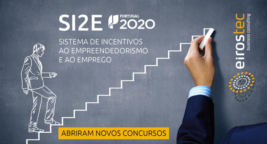 SI2E - Novos Concursos: Área MetroPolitana do Porto,Douro,Douro Superior