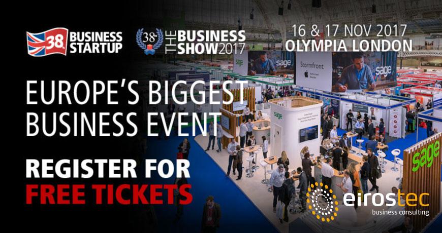 The Business Show 2017 -Eirostec
