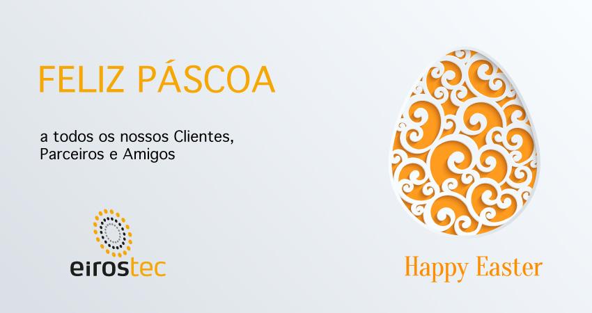Feliz Páscoa - EIROSTEC